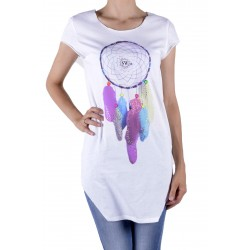 Sexy Woman T-shirt Tunika